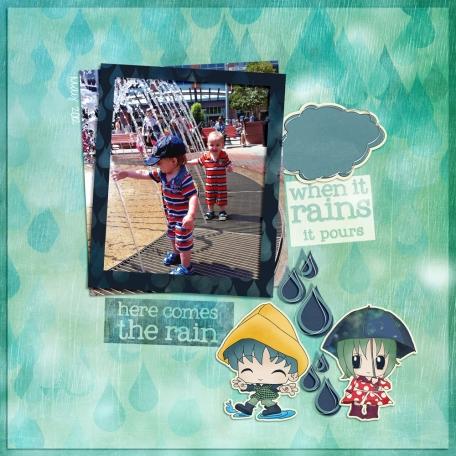 Rain Fountain
