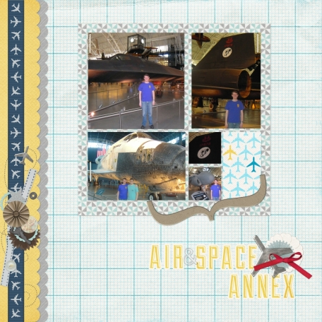 Smithsonian Air & Space Annex