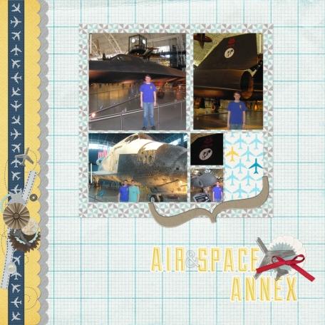 Smithsonian Air & Space Annex