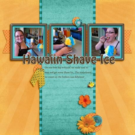 Hawaiin Shave Ice