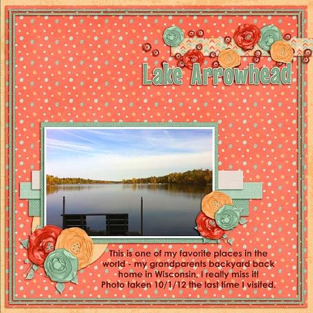 Lake Arrowhead in the fall