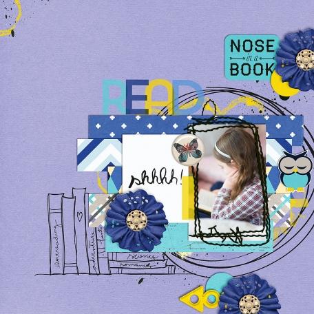Nose In A Book