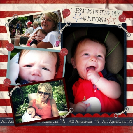 Baby's first July 4th