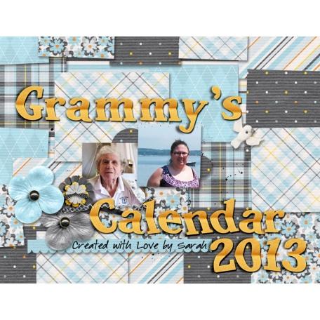 2013 Grammy Calendar - Cover