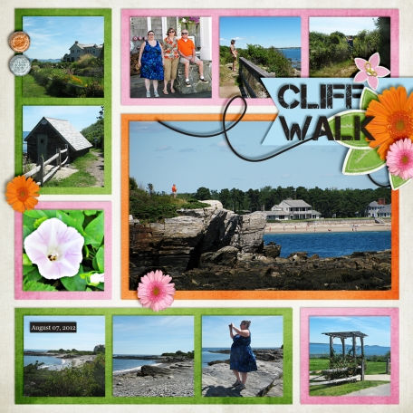Turbats Creek Vacation Book - Cliff Walk
