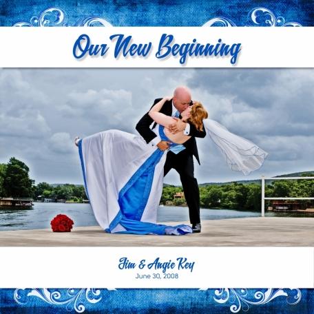 Wedding Album front cover