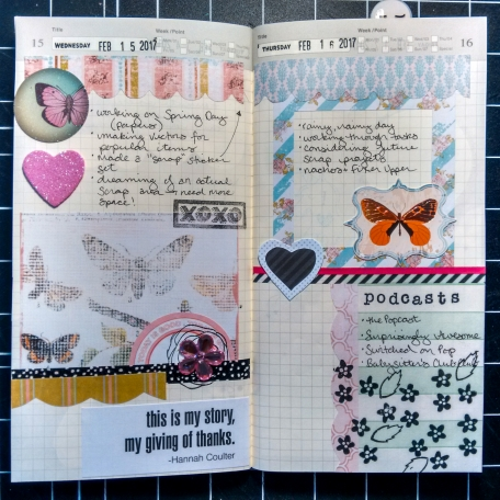 Pretty Things Planner Spread