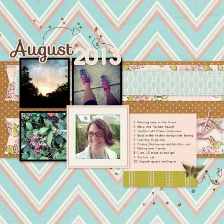 August 2013 List