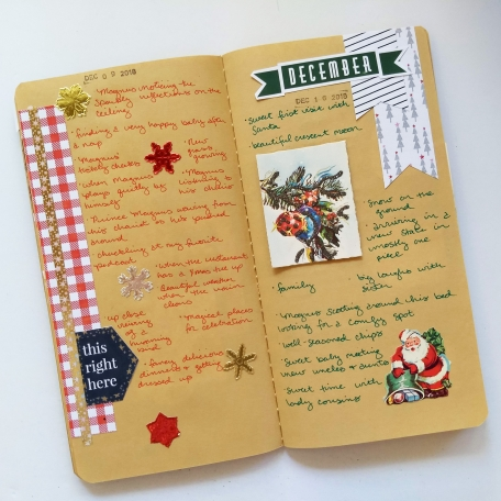 December Gratitude Journal