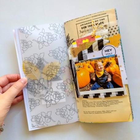 Pumpkin Patch Junk Journal Layout