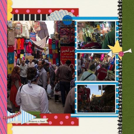 Shopping in Egypt