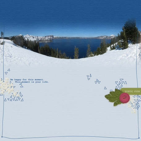 Scenic View - Crater Lake