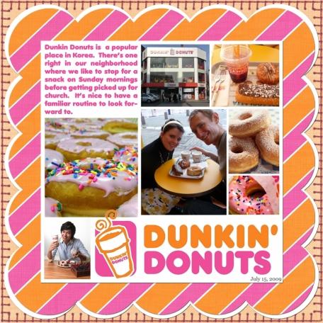2009-07-15, Dunkin Donuts