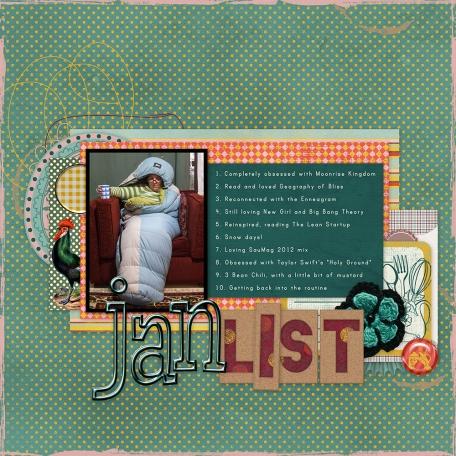 January 2013 List