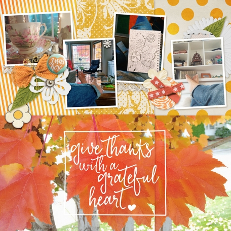 October Pocket Pages