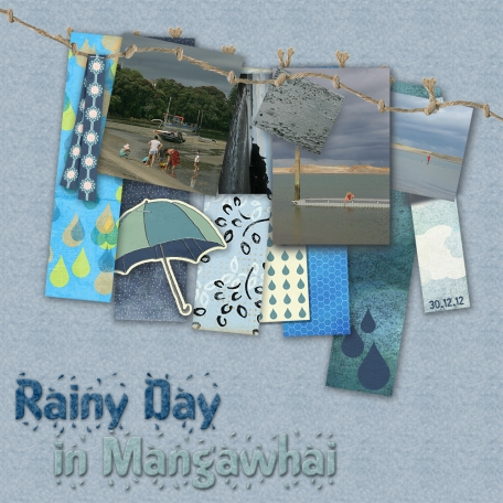 It's a Rainy Day in Mangawhai