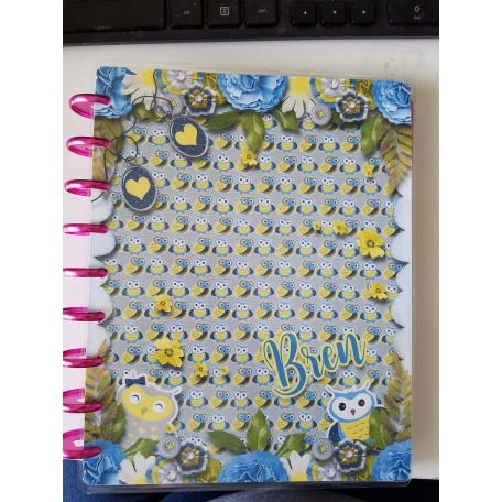 Owl Love You Always Happy Planner Cover