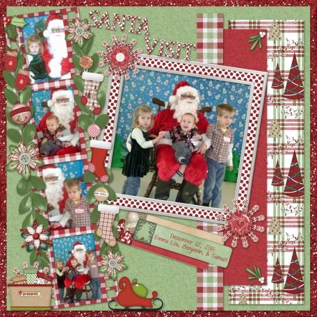 Santa Visits AWANA