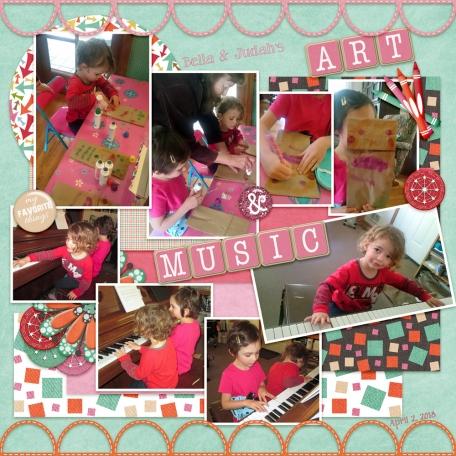 Bella & Judah - Art & Music
