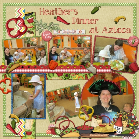 Heather's Dinner at Azteca a