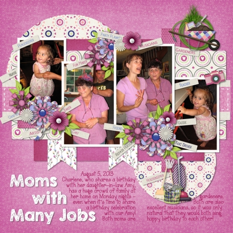Mom & Grandma - Mothers with Many Jobs!