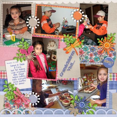Grandchildren Visit