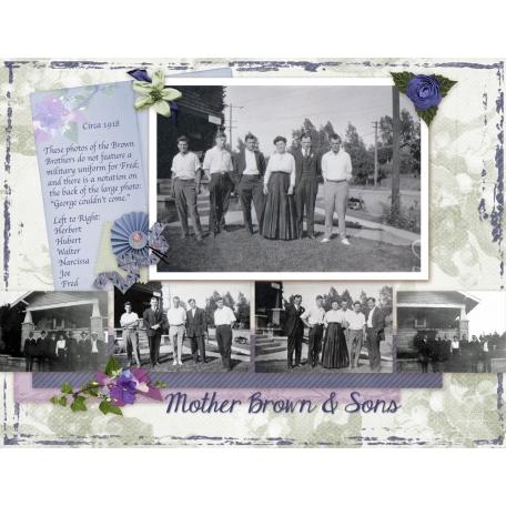 1918 Narcissa & Sons