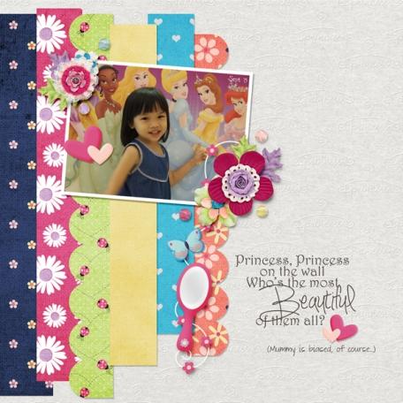 Princess Princess On the Wall