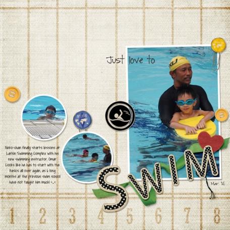 Just Love to Swim