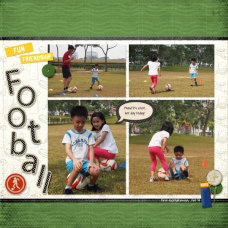 Fun Friendship Football