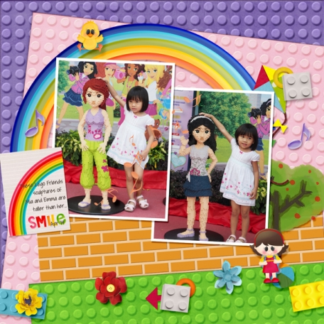 Smile Lego Friends