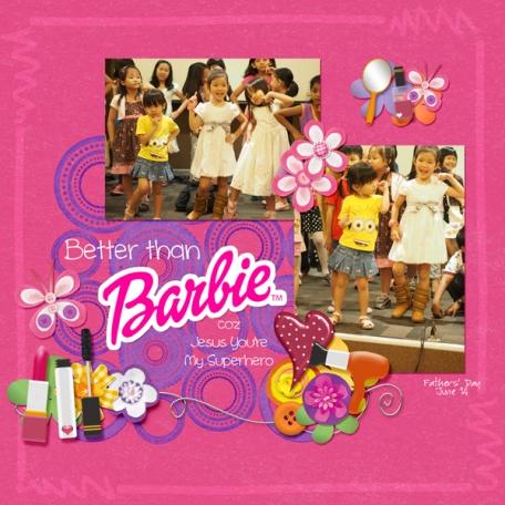 Better than Barbie