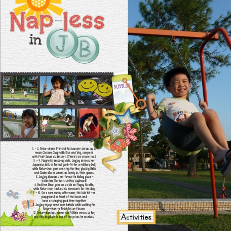 Project 52 Week 3 - Nap-less in JB (right side)