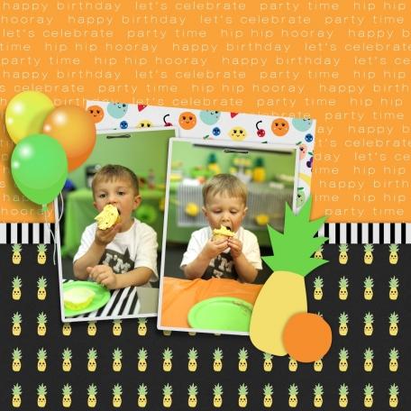 Happy Birthday Jonah & Ezra - 2017 Birthday Party, Page 1