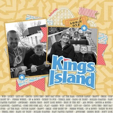 Kings Island Trip - 2017 - Spring Break