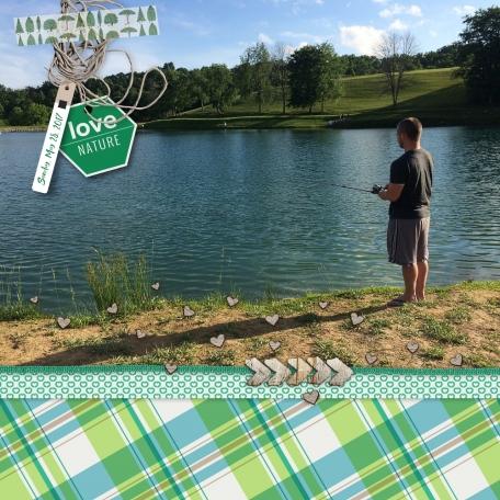 Fishing - Sunday May 28, 2017