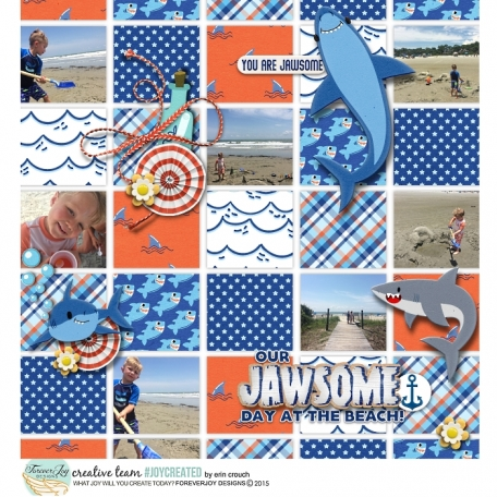 Our Jawsome Day at the Beach