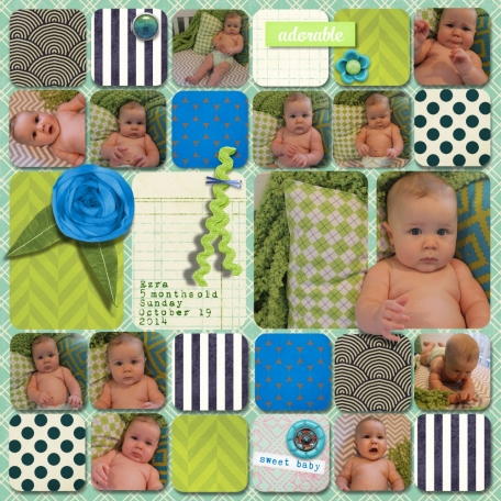 Ezra is 5 Months Old