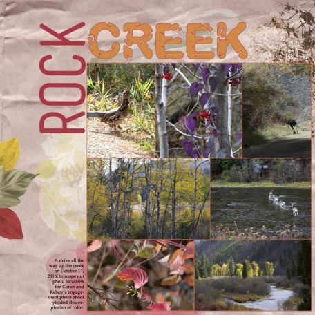 Rock Creek Explosion of Color