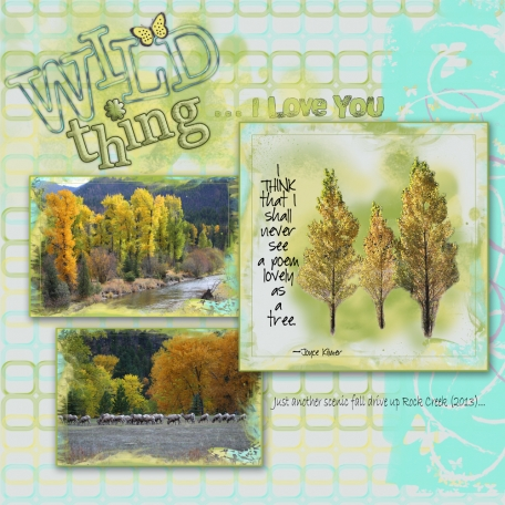 Wild Thing/Lovely As a Tree