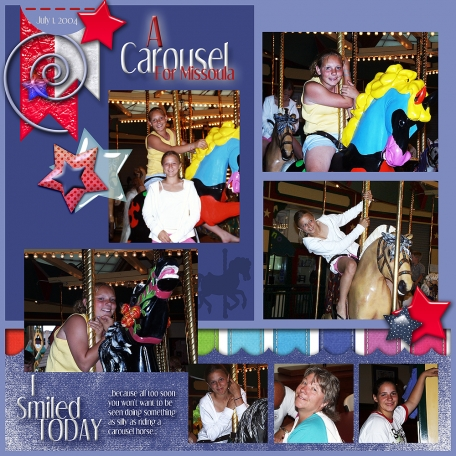 Carousel smile