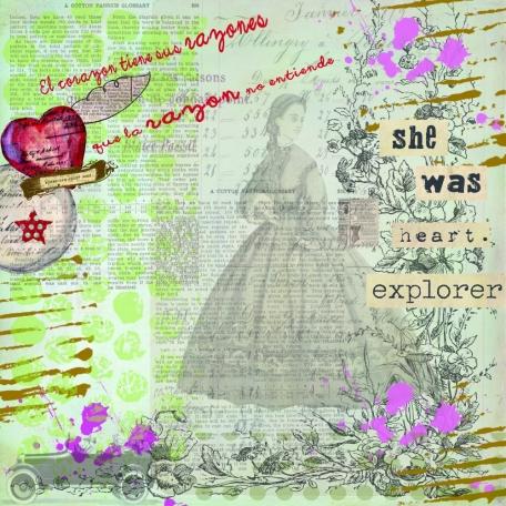 she was explorer heart