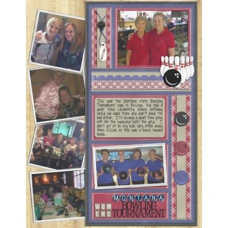 2014 Montana State Women's Bowling Tournament