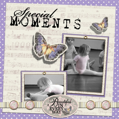 Special Moments - Gracie Ann at 2