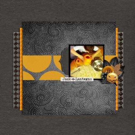"Jack o Lantern-""November Challenge Bedouin Nights"""