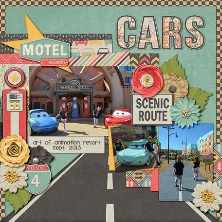 Cars at Disney's Art of Animation Resort