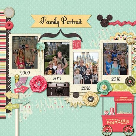 Family Portrait - Main Street