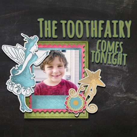 The Tooth Fairy Comes Tonight