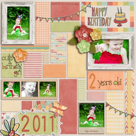 Miss Leesey's 2nd Birthday