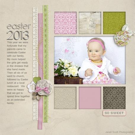 Easter 2013 - Sophia